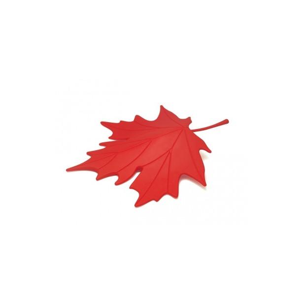 фото Подпорка для двери Qualy Autumn. Цвет: красный