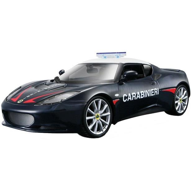фото Модель автомобиля 1:24 Bburago Lotus Evora S Carabinieri