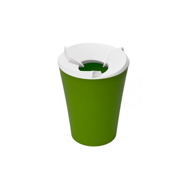 фото Контейнер для мусора Qualy Recycle. Цвет: лайм