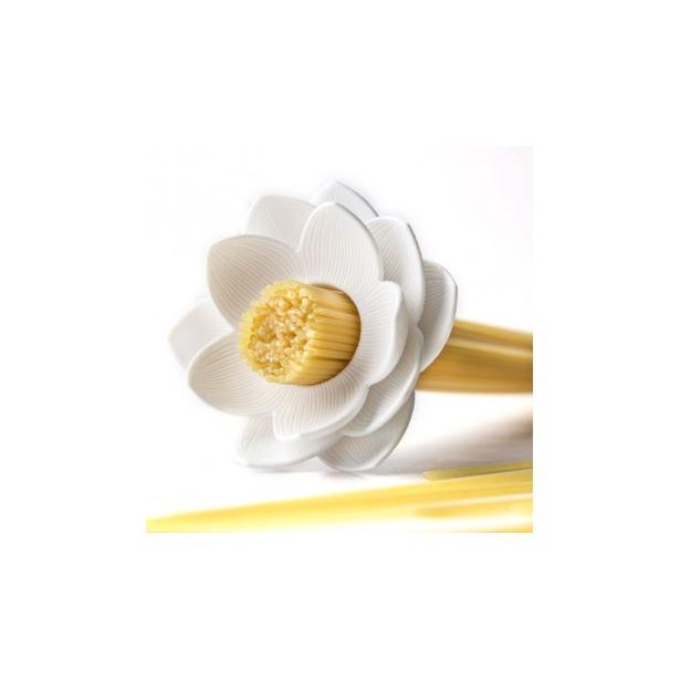 фото Мера для спагетти Qualy Lotus. Цвет: белый