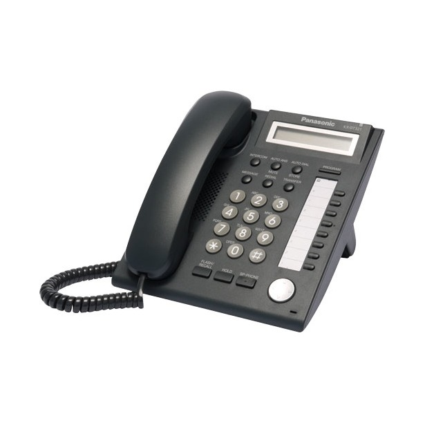 фото Телефон системный Panasonic KX-DT321RU-B