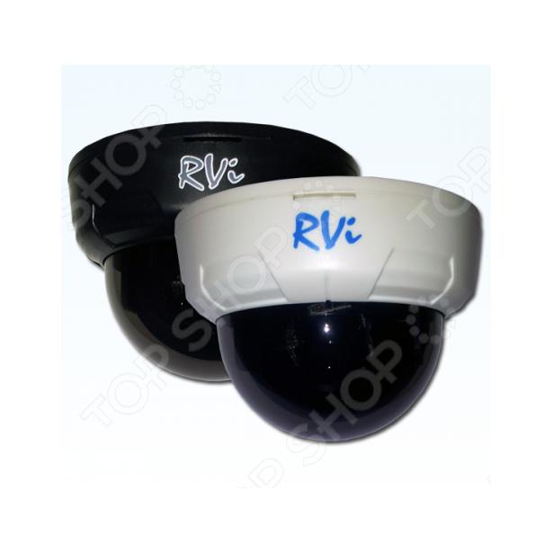 фото Камера видеонаблюдения купольная RVI E21. Цвет: белый