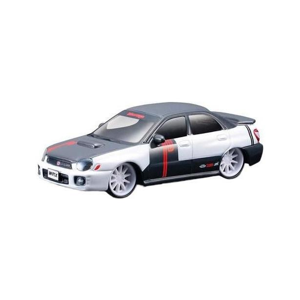 фото Модель автомобиля 1:43 Bburago Subaru Impreza WRX STI