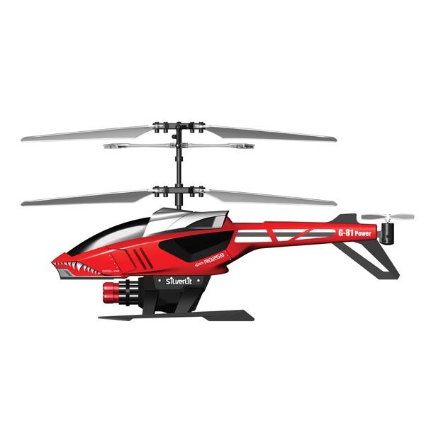фото Вертолет 3-х канальный Silverlit Helli Blaster со стрелами. В ассортименте