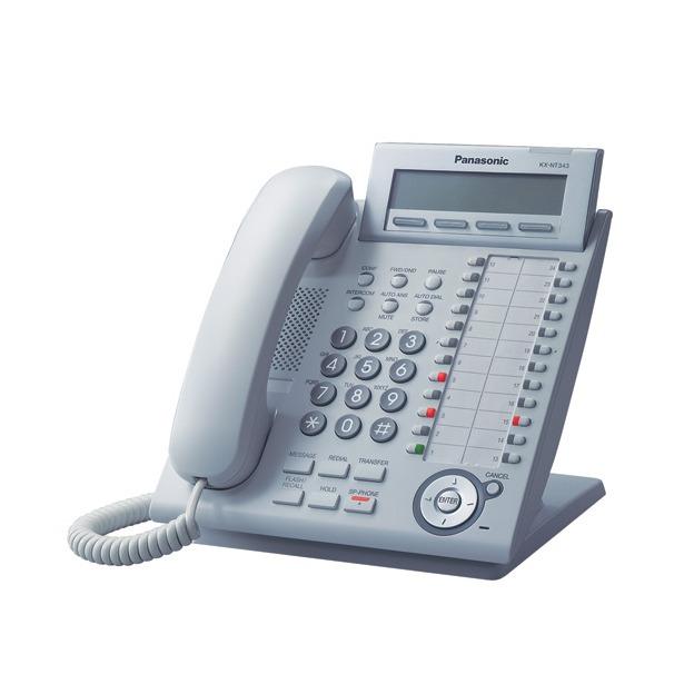 фото Телефон системный Panasonic KX-NT343RU