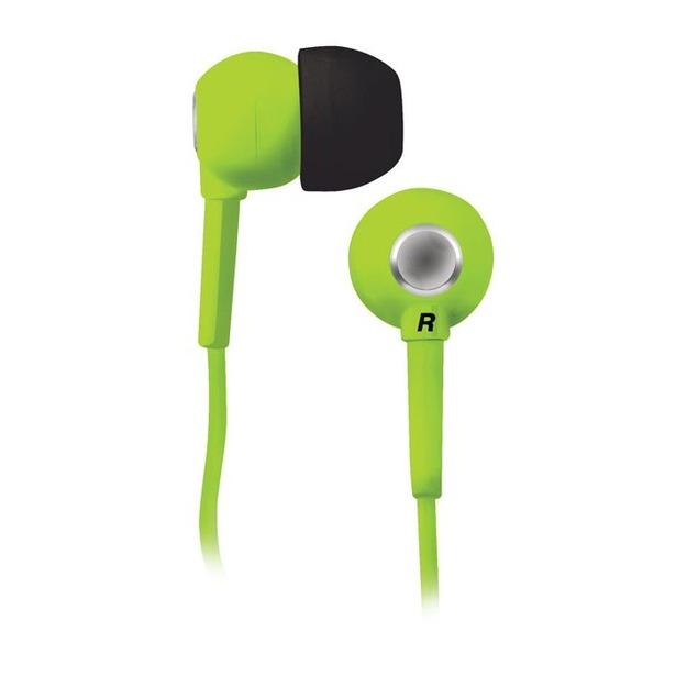 фото Наушники вставные BBK EP-1200S. Цвет: зеленый