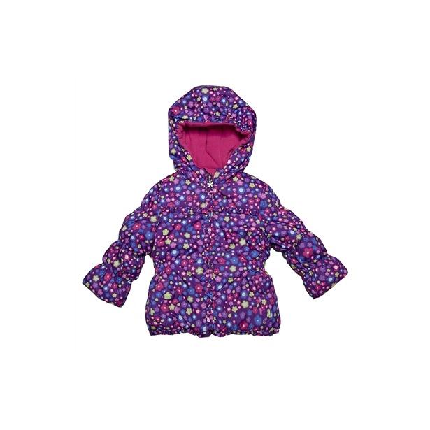 фото Куртка утепленная с капюшоном Amy Byer Цветочек-purple