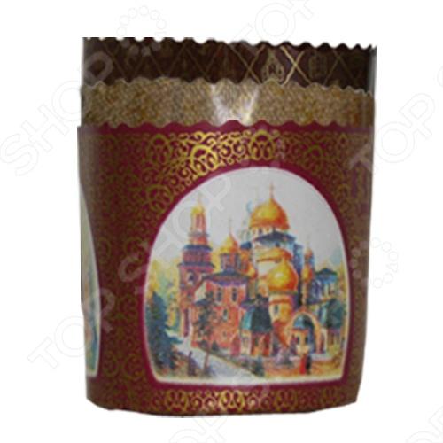 Набор бумажных форм для выпечки куличей «Пасхальный» 11350